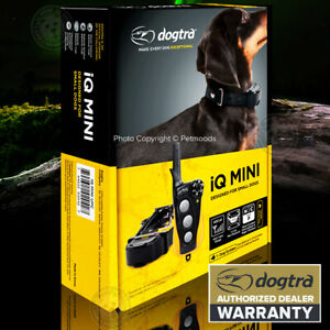 Dogtra iQ Mini Remote Training Collar Expandable for SMALL Dog