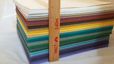 SCRAPBOOKING / CARD MAKING / PAPER HUGE LOT OF 8 1/2 X 11 MULTI COLOR CARDSTOCK