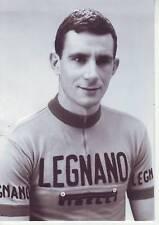 CYCLISME carte cycliste CARLO CHIAPPANO équipe LEGNANO (coups de pédales)