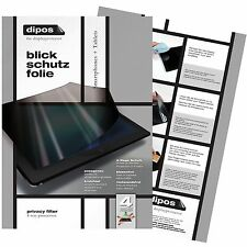 Asus ZenFone 3 Laser Blickschutzfolie matt Schutzfolie Folie dipos Privacy