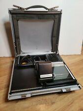 Micro Design The Portable Microfiche Projector/Reader Briefcase