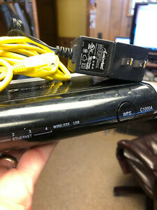 🍎😉Actiontec CenturyLink Wireless-N Router Gigabit Modem C1000A 4 Port🍎😉