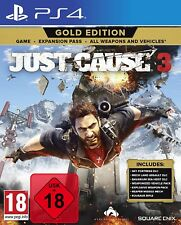 Just Cause 3 Gold Edition inkl. Expansion Pass - PS4 Playstation 4 - NEU OVP