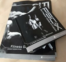 P90X Extreme Home Fitness The Workouts 12 DVD Set Complete Plus Instruction DVD