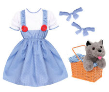 KANSAS GIRL COSTUME DOROTHY ADULTS CHILDS WORLD BOOK DAY CHARACTER FANCY DRESS