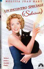 UN INCONTRO SPECIALE ( SABRINA ) VHS CiC  Melissa Joan Hart Tibor Takács