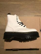 Dr. Martens Jadon White Smooth Platform Boot Size US 7 Women UK 5 SOLD OUT!! NEW