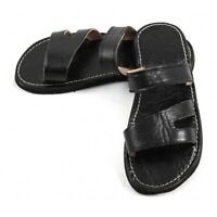 Moroccan Sandals made of Black Leather for Men - men - women Clarks / sandals