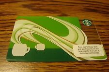 STARBUCKS GIFT CARD NO VALUE-Never Used or Activated Collectable 2010 New