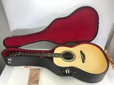 OVATION VTG 1969 Model 1111 6 String Acoustic Guitar W Case & Original Paperwork