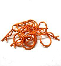 l11602s orange PETIT 25mm corps long Housse TIGE R CLIPS broches Coque 1/10 1/16