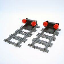 Lego City Train Track End / Buffer Stops x2 - 60051 60052 60197 60198 60098