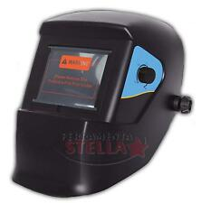 ELMETTO MASCHERA SALDATURA SALDATORE A CELLE LCD AUTO OSCURANTE TIPO STANLEY