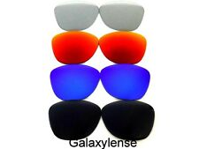 Galaxy Replacement Lenses For Oakley Frogskins Black&Blue&Red&Clear Grey 4Pairs