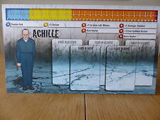 Zombicide-Achille-Carattere Pannello Di Controllo Card (solo scheda)