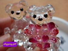 SWAROVSKI CRYSTAL Lovlots - Kris Bear - In Love - Sweetheart Love Flower 5004526