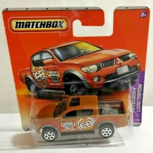 MATCHBOX MBX DIECAST MITSUBISHI L200 TRITON COYOTE BILL'S RESERVE FACTORY SEALED