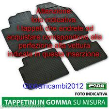 Serie Tappeti personalizzati Fiat Qubo Made in Italy/inodore