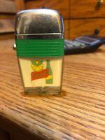 Vintage Very Rare Squirt Bottle Soda Cigarette Lighter Advertising