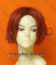 Hetalia Axis Powers Cosplay Italy Custom Made Red Cosplay Wig_wig355