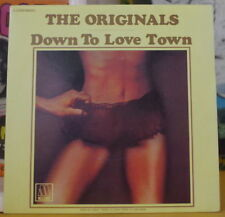 THE ORIGINALS DOWN TO LOVE TOWN FRENCH SP WARNER BROS 1977