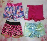 New Size 6 IC SC Child Dance Gymnastics Shorts for Leotard Reflectionz Girls