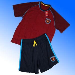 West Ham United FC Short Pyjamas WHUFC M L XL