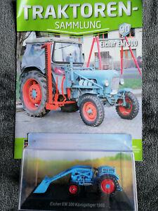 Traktoren-Sammlung Hachette 1:43 top mit Zeitung Ausgabe 90