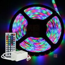 5M 300 LED RGB Multicolour Strip Tape Light 3528 LED Connectable Waterproof 12V