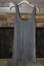 Kristensen Du Nord Gray Silk/Linen Dress - Size 1