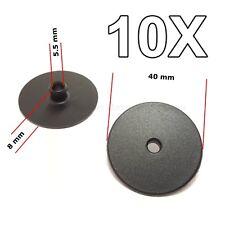 10x for AUDI VW SKODA SEAT Floor Mat Carpet Fastener Clip Carpet Cover Clamp