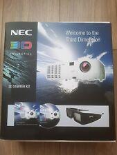 2 x NEC 3D KIT proiezione occhiali 3D Np01sk3d NP01GL