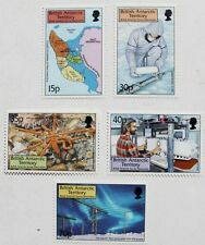 British Antarctic survey discoveries stamps, 1999, B.A.T. SG ref: 307-311, MNH