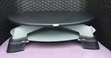 Fellowes Monitor Riser - Black and Grey - Egg Shaped