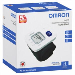 Omron HEM-6161 Basic Wrist Blood Pressure Monitor QLD STK Best Pricing