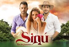 Sinu Rio De Pasiones .. Telenovela Colombiana 16 Dvds