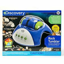 Discovery Kids Rock Tumbler Polisher - Science fun for kids and rock collectors