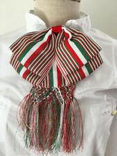 Mexican Charro Moño Doble Tricolor Green Verde Blanco White Red Rojo Mariachi
