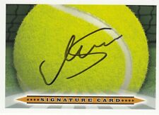 Monica Seles (YUG) Tennis 9 x Grand Slam Titel original signiert/signed !!