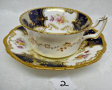 Coalport PANEL / BATWING Tea Cup & Saucer Y2665 [#2]