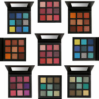 Technic Pressed Pigment Eyeshadow Palette - Colours Shimmer Glitter Matte Eyes