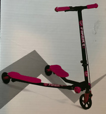 Yvolution Fliker F1 Air Kids Scooter - Black with Pink New In Box Self-propelled