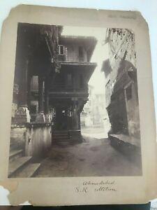 Vintage Photograph - Western India - Ahmedabad