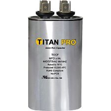 Titan TOCF30 30 MFD 440/370V Dual Rated Oval Run Capacitor -  New