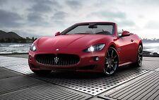 Pegatina Autoadhesiva Auto Coche Maserati Grancabrio Sport A230
