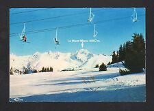 BOURG-SAINT-MAURICE (73) TELESIEGE à ARC CHANTEL animé en 1977