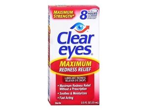 Clear Eyes Max Redness Relief 0.5 oz : 3 Packs