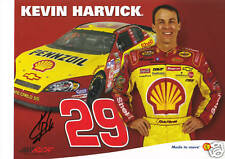 Kevin Harvick Autographed 8x10 Photo/Picture