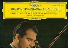 """brahms violinkonzert d-dur christian ferras von karajan dg tulip 12"""" LP (b331)"""