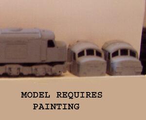 P&D Marsh N Gauge n Scale A211 Class 44/45/46 Peak kit requires painting